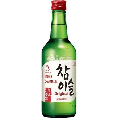 sake coreen jinro soju chamisul 350ml 20,1°