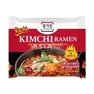 ramen coreene au veritable kimchi 122gr jongga