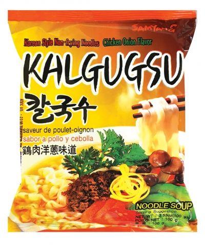 nouilles coreenes poulet oignon 100gr kalgugsu