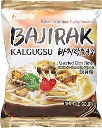 nouille coreenne au palourde bajirak kalgugsu sam yang 100 g