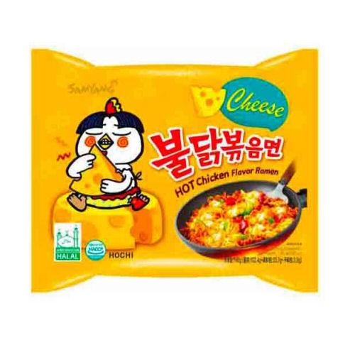 nouilles ramen au poulet buldak fromage samyang 140g