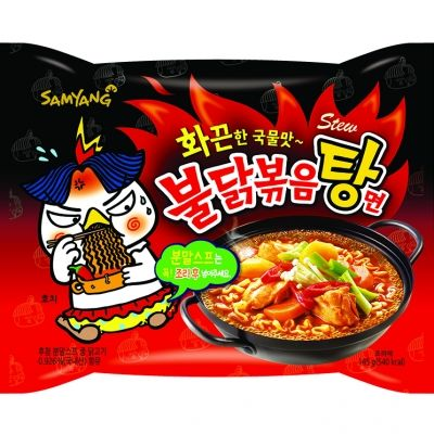 nouilles ramen  coreennes challenge  poulet epicees 145g