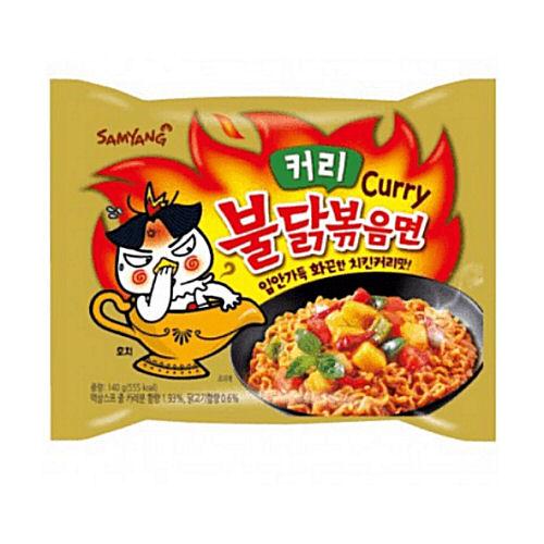 nouilles ramen epicees au poulet curry samyang 140g