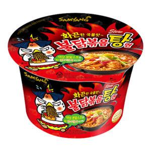 bol ramen coreenne challenge poulet tres piquant 120gr sam yang