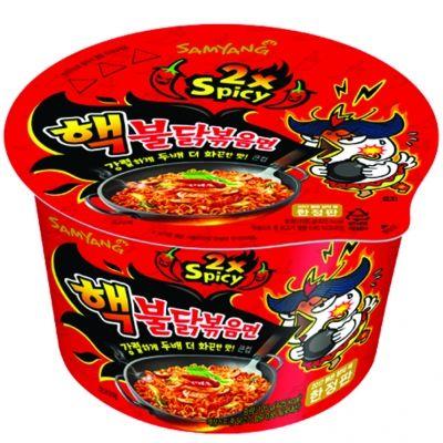 bol de nouille ramen challenge  coreennes poulet tres epicés 105 gr samyang