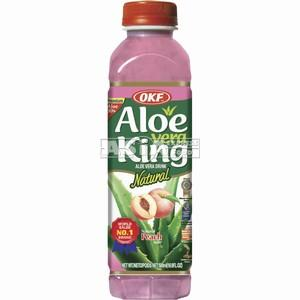 boisson coréenne aloe vera a la peche okf 500ml