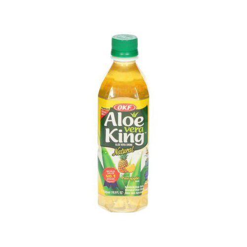boisson coréenne aloe vera ananas okf 500ml