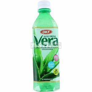boisson coréenne aloe vera nature sans sucre  500ml okf