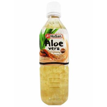 boisson aloe vera au ginseng rouge 500ml