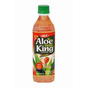 boisson coréenne aloe vera fraise 500ml okf