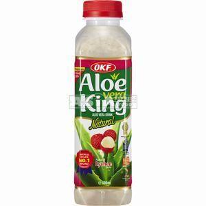 boisson aloe vera lychee 500ml okf