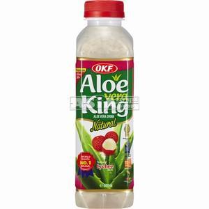 boisson coréenne aloe vera lychee 500ml okf