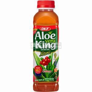 boisson coréenne aloe vera cranberry 500ml okf