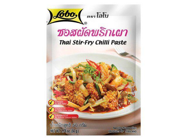 sauce thai  aux piment pour poelee sauté