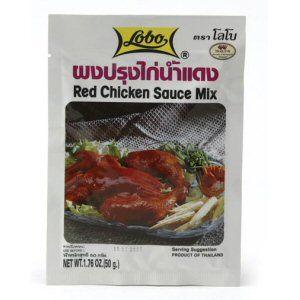 sauce poulet rouge lobo 50g