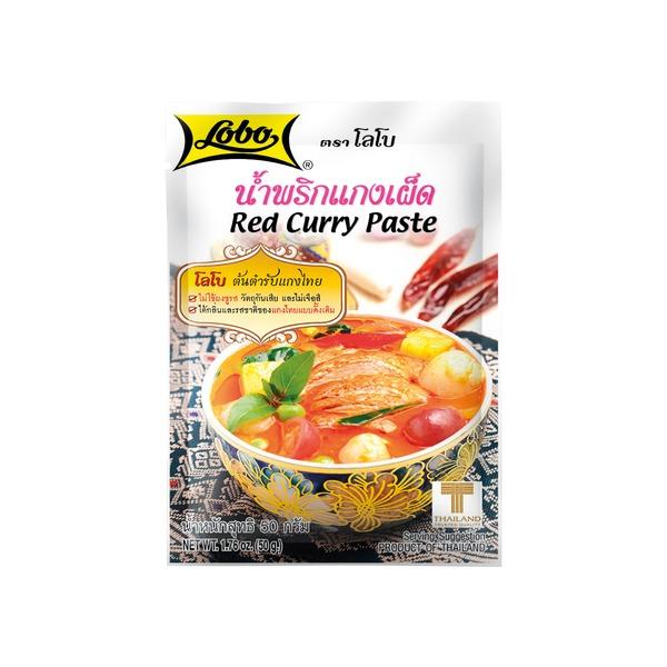 pate de curry rouge 50gr lobo