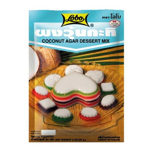 agar mix dessert de coco lobo 60g