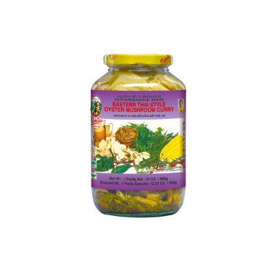 champignon pleurotes au curry 680gr pantai