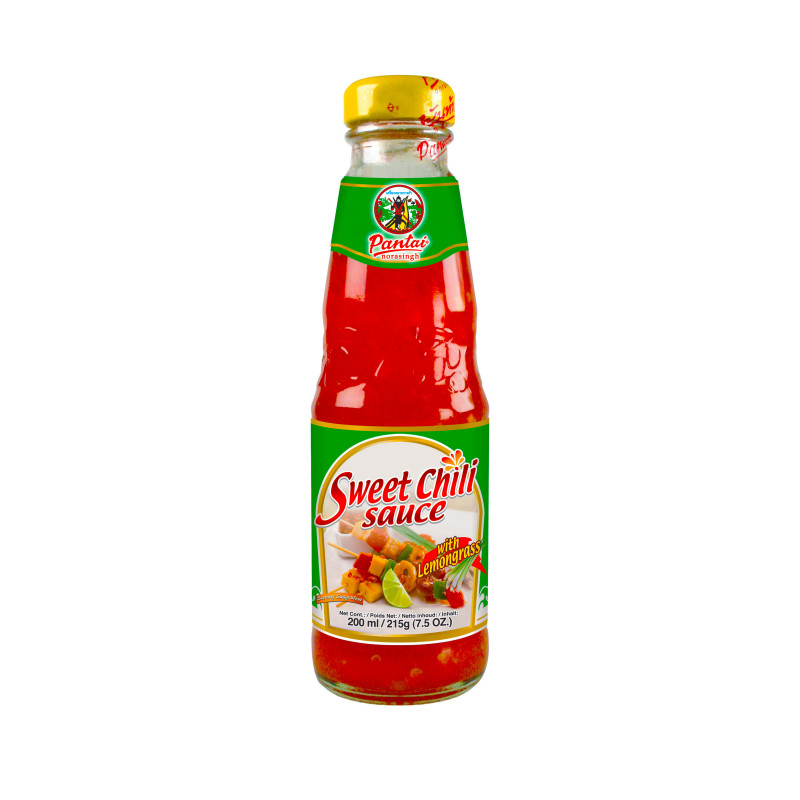 sauce chili douce a la citronnelle 200ml pantai