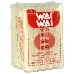 vermicelles de riz  waiwai 500gr