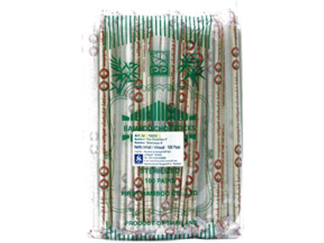 baguettes bambou 22.5cm  100 paires