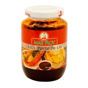 piment à l'huile de soja nam prik pao mae ploy 454g