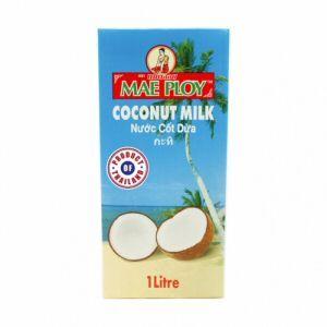lait de coco mae ploy blue uht 1l