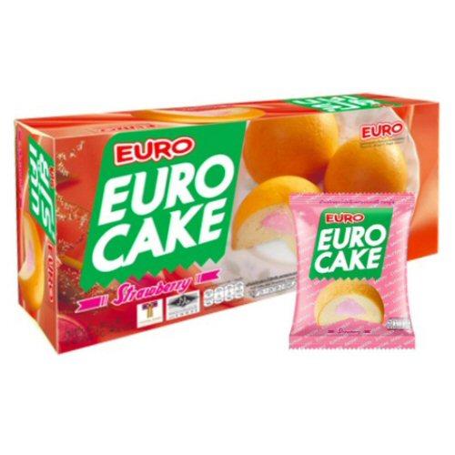 gateaux euro cake fraise 144gr