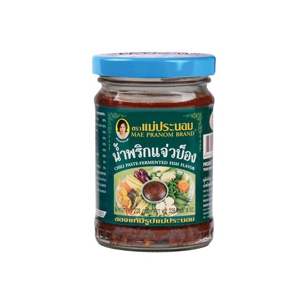 pate de piment fermente au poission 228gr mae pranom
