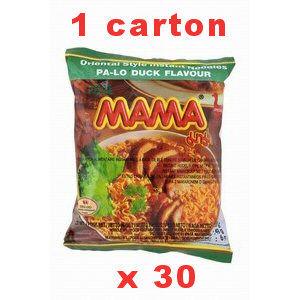 carton soupes canard mama 30x55gr