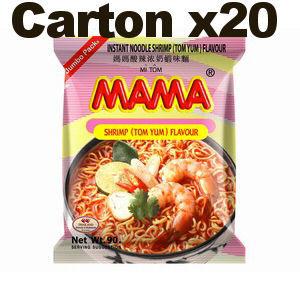 carton mama crevette tom yum creme 90gx20