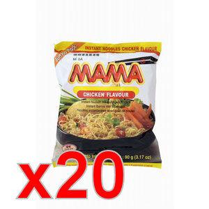 carton 20xmama poulet 90gr