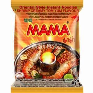 mama soupe crevette tom yum creme 55g