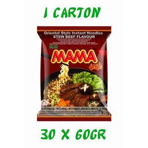 carton soupes mama 30x60gr boeuf