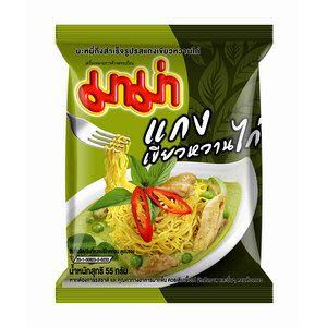 nouilles curry vert mama 55g