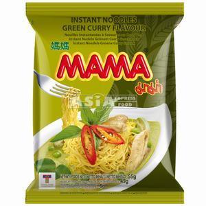 carton nouilles mama curry vert 30x55