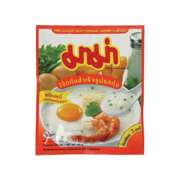 porridge aux crevettes