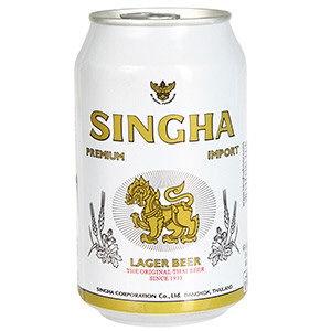 biere  singha 33 cl en cannette