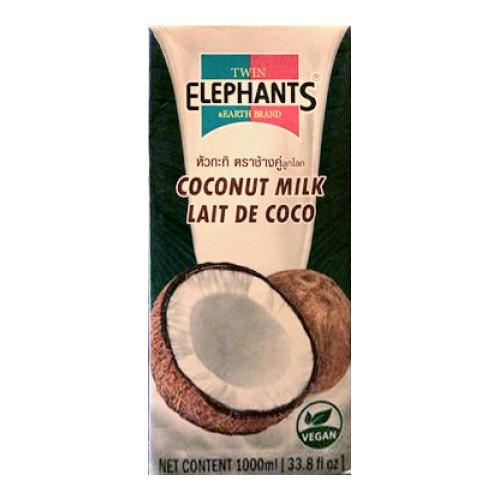 lait de coco 1 litre elephants