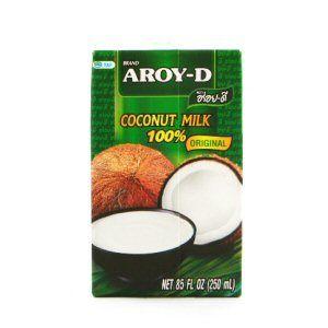 lait de coco aroy-d 60% 250ml