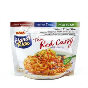 riz frit curry rouge mama 80g