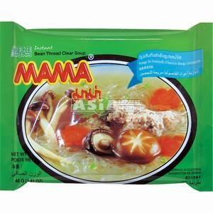 carton mama soup vermicelle bean 30 x 40g