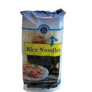 vermicelle de riz  pour wok