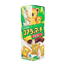 biscuits au chocolat koala lotte 37g