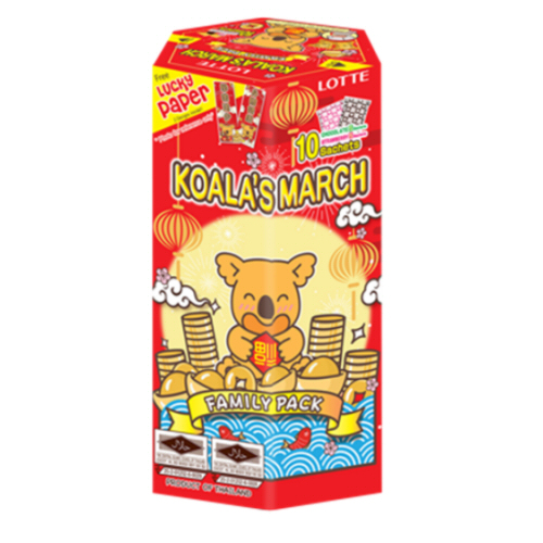 biscuit koala chocolat fraise nouvel an chinois 195gr