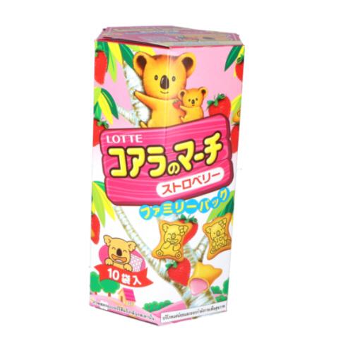 biscuit fraise koala pack famille 195gr