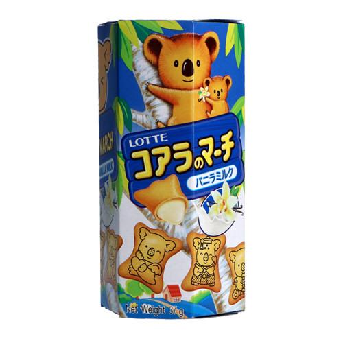 biscuits  koala vanille au lait37g