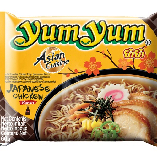 nouille yumyum saveur japonaise poulet shoyu