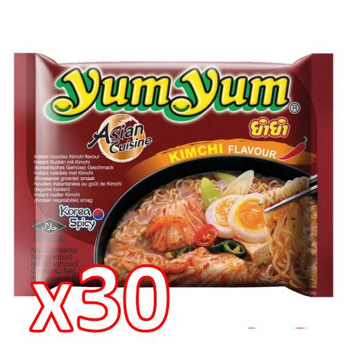 carton yumyum kimchi 30x60gr