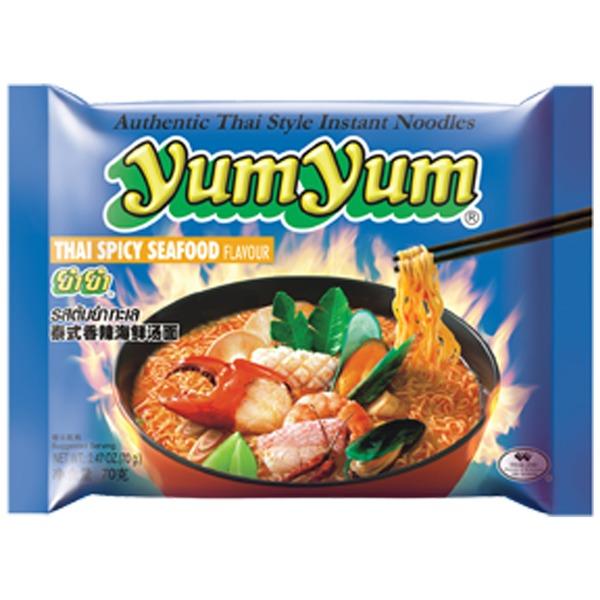 carton yumyum fruits de mer epice 30x60g
